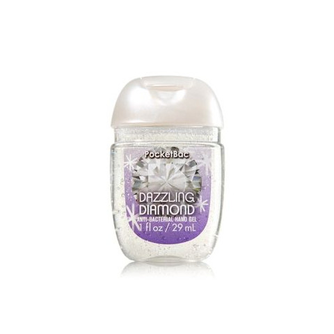AntiBacterial PocketBac Gel Bath Body Works Dazzling Diamond