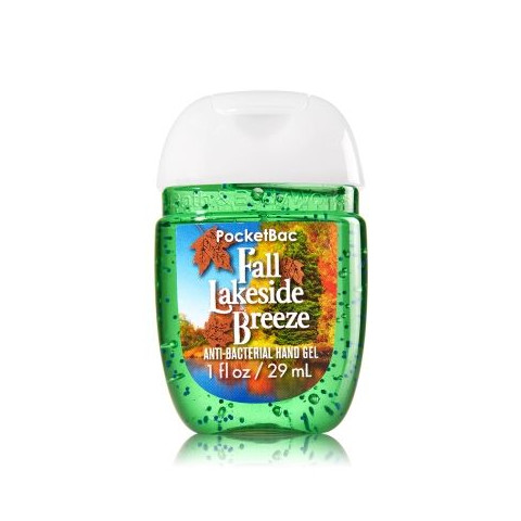 AntiBacterial PocketBac Gel Bath Body Works Fall Lakeside Breeze