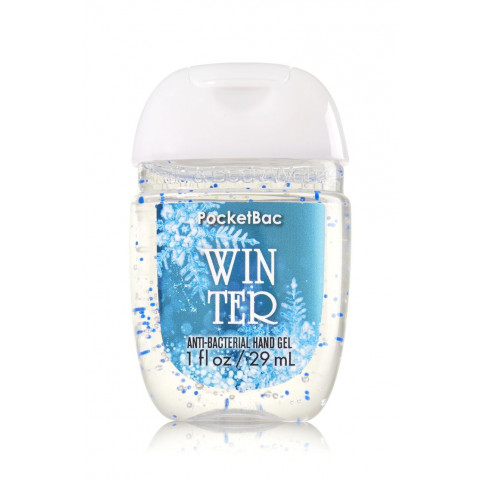 Anti-Bacterial Pocketbac Gel Bath Body Works Winter