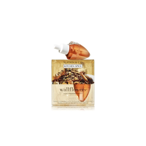 ESSÊNCIA Bath Body Works Wallflowers Bulb 2 Pack Refil Kitchen Spice