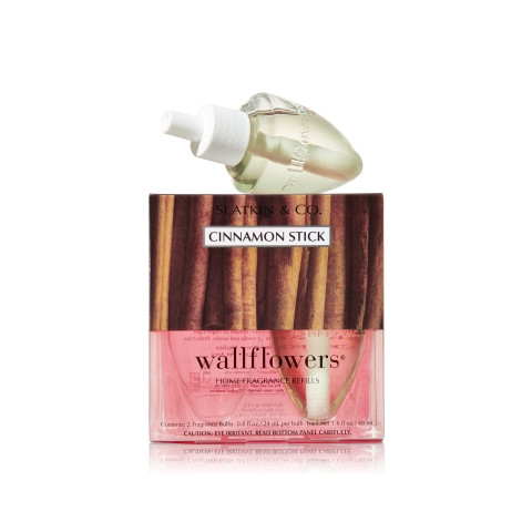 ESSÊNCIA Bath Body Works Wallflowers Bulb 2 Pack Refil Cinnamon Stick