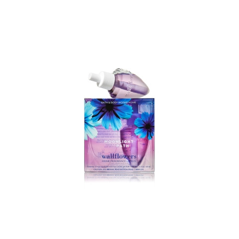 ESSÊNCIA Bath Body Works Wallflowers Bulb 2 Pack Refil Moonlight Path