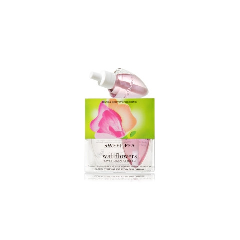 ESSÊNCIA Bath Body Works Wallflowers Bulb 2 Pack Refil Sweet Pea