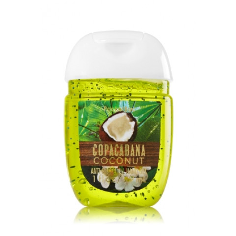 Anti-Bacterial Pocketbac Sanitizing Hand Gel Bath & Body Copacabana Coconut