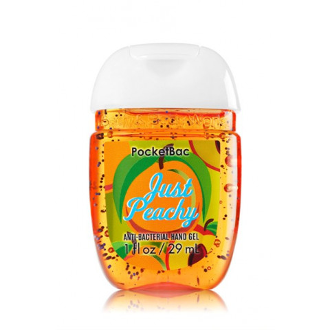 Anti-Bacterial Pocketbac Sanitizing Hand Gel Bath & Body Works Just Peachy