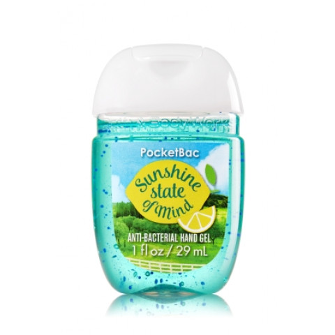 Anti-Bacterial Pocketbac Sanitizing Hand Gel Bath & Body Works Sunshine State of Mind