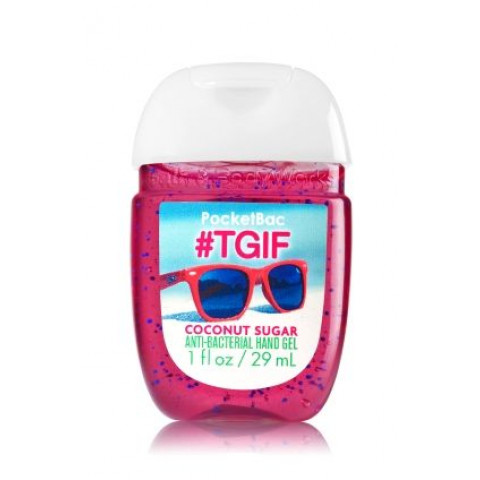 Anti-Bacterial Pocketbac Sanitizing Hand Gel Bath & Body Works #TGIF