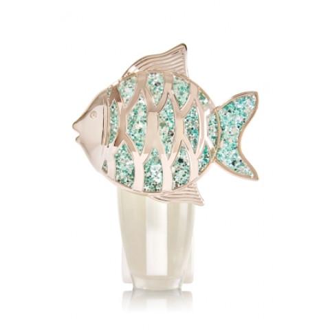 Aparelho Elétrico Aromatizador de Ambiente Bath & Body Works Wallflowers Plug Glitter Fish Nightlight