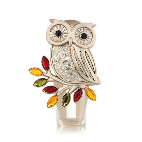 Aparelho Elétrico Aromatizador de Ambiente Bath & Body Works Wallflowers Plug Shining Owl Nightlight