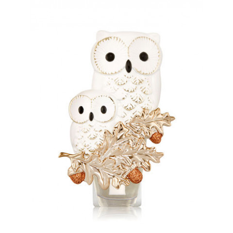 Aparelho Elétrico Aromatizador de Ambiente Bath & Body Works Wallflowers Plug Snow White Owl Duo