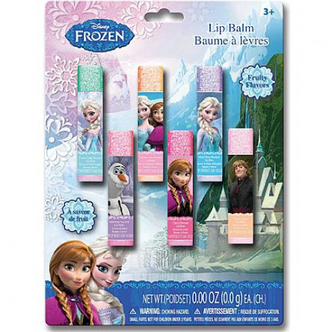 Disney Frozen 6 Pack Lip Balm