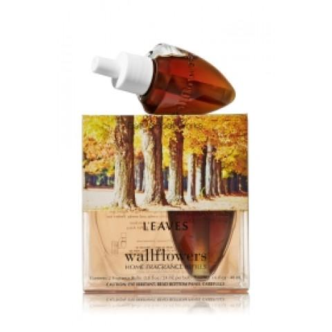 ESSÊNCIA Bath Body Works Wallflowers Bulb 2 Pack Refil Leaves