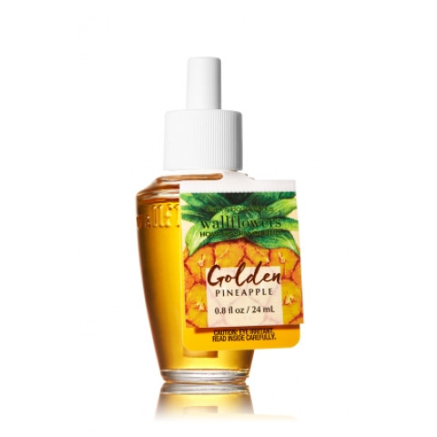 ESSÊNCIA Bath & Body Works Wallflowers Aromatizador de Ambiente Refil Golden Pineapple