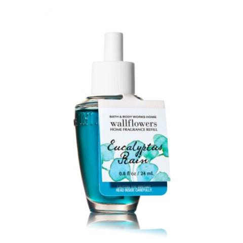 ESSÊNCIA Bath & Body Works Wallflowers Difusor Elétrico Aromatizador de Ambiente Refil Bulb Eucalyptus Rain