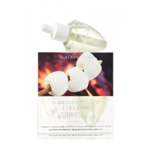 ESSÊNCIA Bath Body Works Wallflowers Bulb 2 Pack Refil Marshmallow Fireside