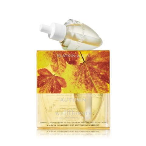 ESSÊNCIA Bath Body Works Wallflowers Bulb 2 Pack Refil Autumn
