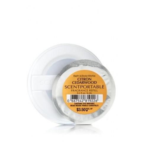 Refill de Aparelho Aromatizador para carro Scentportable Bath & Body Works Citron Cedarwood