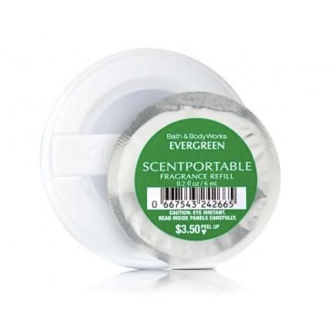 Refill de Aparelho Aromatizador para carro Scentportable Bath & Body Works Evergreen