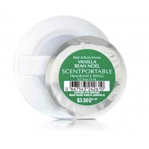 Refill de Aparelho Aromatizador para carro Scentportable Bath & Body Works Vanilla Bean Noel