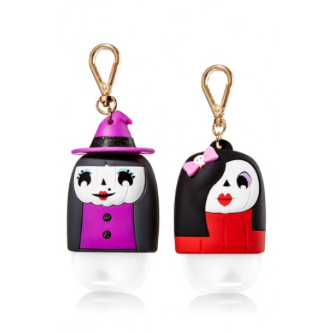 Suporte para Álcool Gel Bath & Body Works Accessories Pocketbac Holder (2 unidades) BFF Ghoul Friends