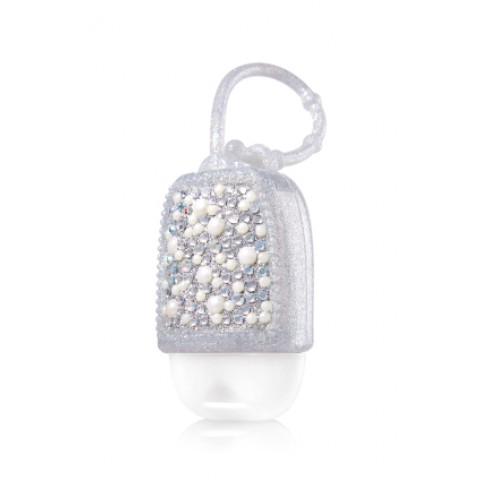 Suporte para Álcool Gel Bath & Body Works Accessories Pocketbac Holder Bling Pearl