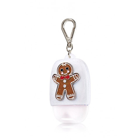 Suporte para Álcool Gel Bath & Body Works Accessories Pocketbac Holder Gingerbread Man