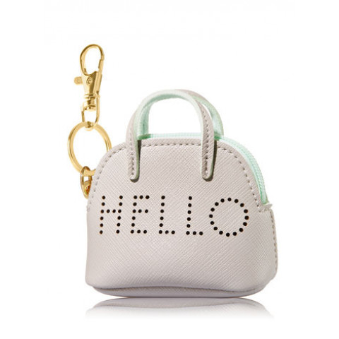Suporte para Álcool Gel Bath & Body Works Accessories Pocketbac Holder Hello Mini Purse