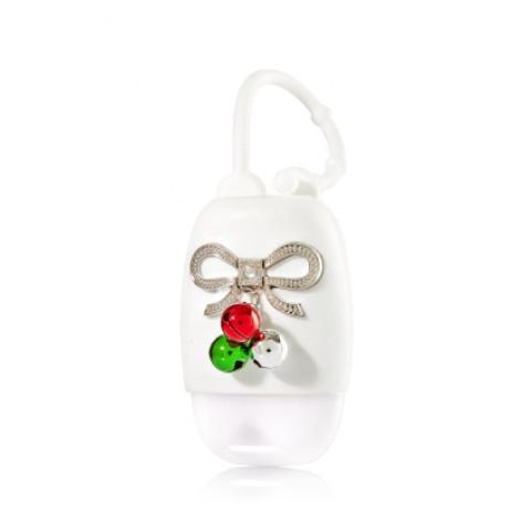 Suporte para Álcool Gel Bath & Body Works Accessories Pocketbac Holder Jingle Bell Bow