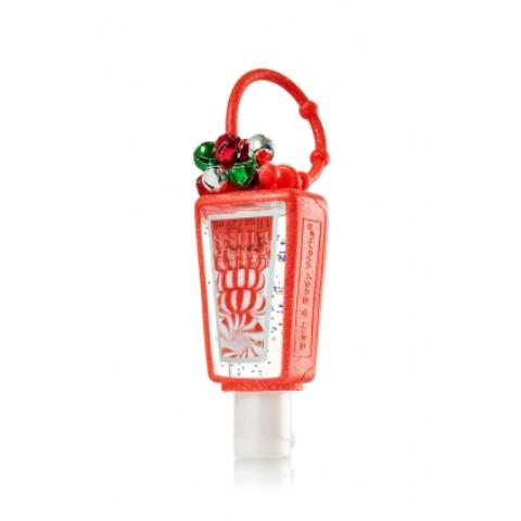 Suporte para Álcool Gel Bath Body Works Pocketbac Jingle Bells Red