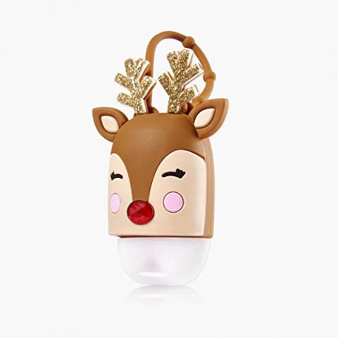 Suporte para Álcool Gel Bath & Body Works Accessories Pocketbac Holder Light Up Reindeer