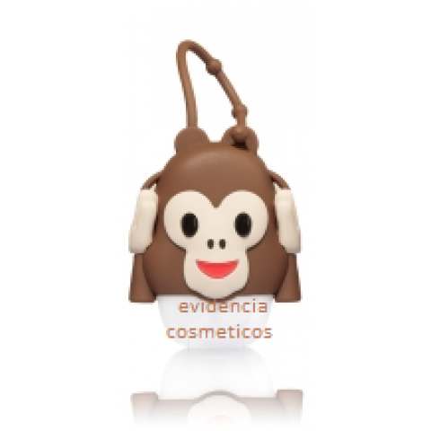 Suporte para Álcool Gel Bath & Body Works Accessories Pocketbac Holder Monkey Emoji Ouvido