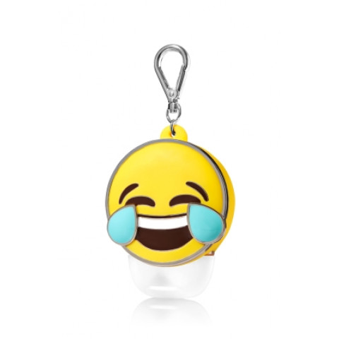 Suporte para Álcool Gel Bath & Body Works Accessories Pocketbac Holder Tears of Laughter Emoji