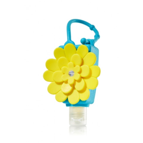 Suporte Álcool Gel Bath Body Works Pocketbac Yellow Chrysanthemum
