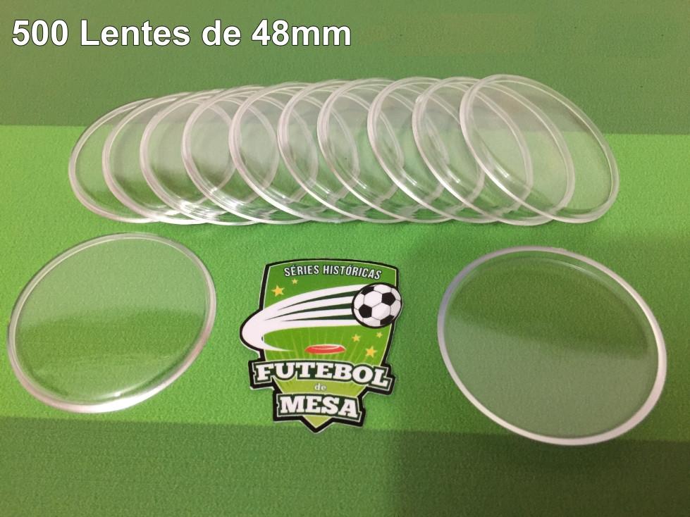500 Lentes Transparentes (48 mm de diâmetro)