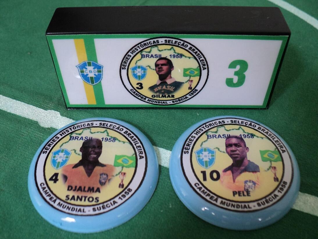 Brasil - 1958 - Titulares