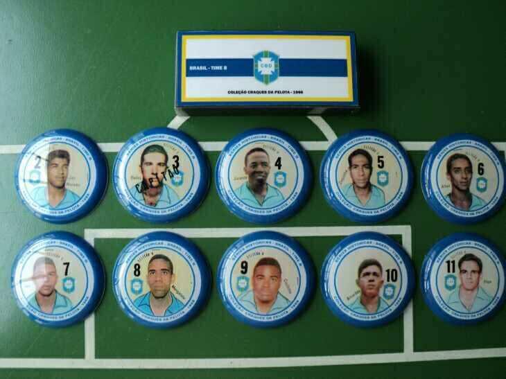 Brasil - Seleção B - Coleção Craques da Pelota 1966