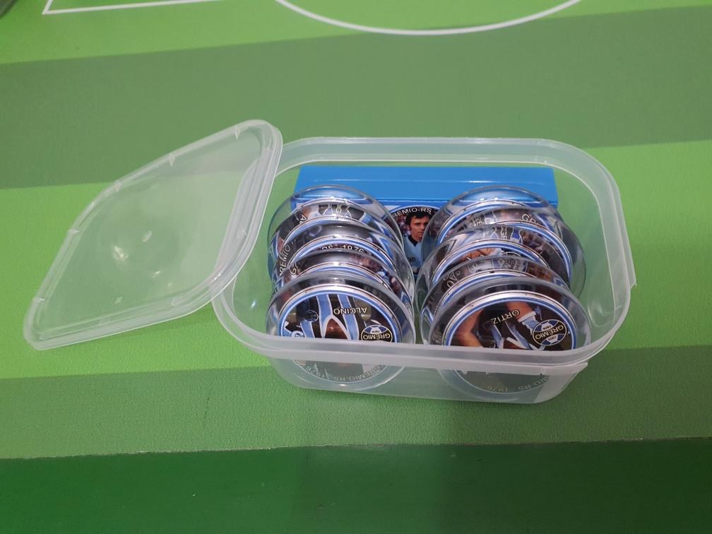 10 Caixinhas plásticas para Times de Botão (10,5cm X 7cm X 4cm)