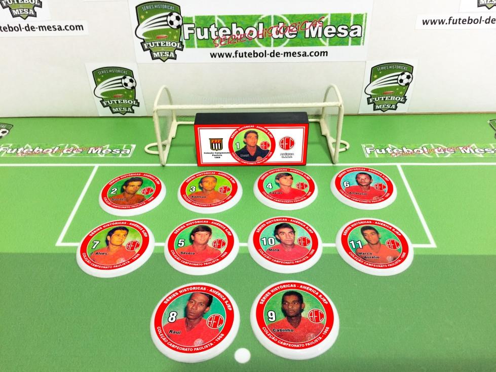 Coleção Campeonato Paulista 1968 - América-SJRP