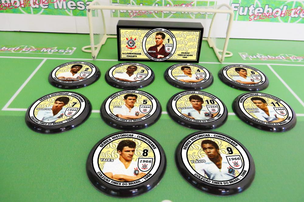 Coleção Times Brasileiros 1966 - Corinthians-SP