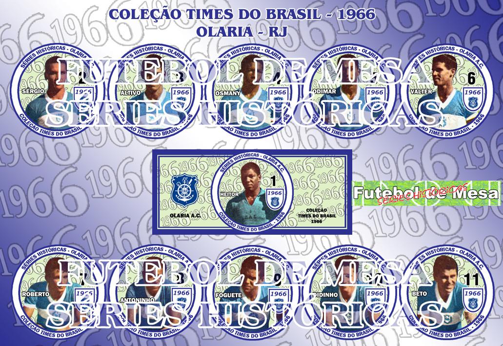 Coleção Times Brasileiros 1966 - Olaria-RJ