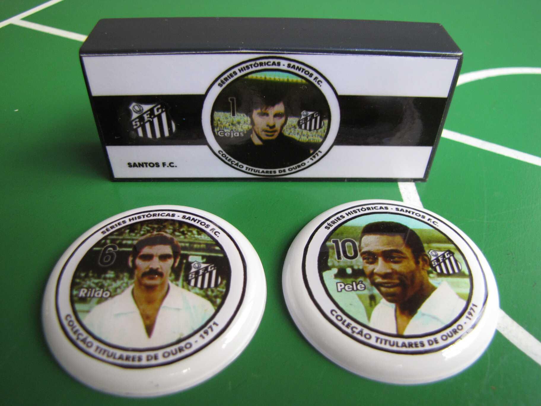 Coleção Titulares de Ouro - 1971 - Santos
