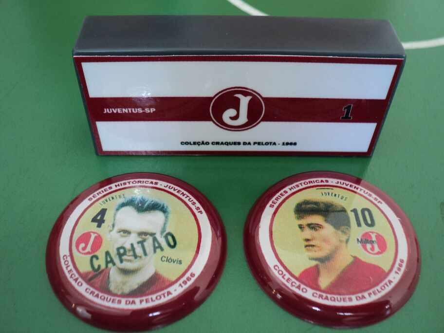 Juventus-SP - Coleção Craques da Pelota 1966