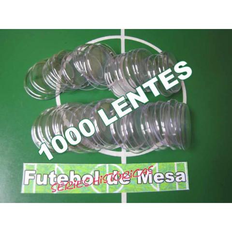 1000 Lentes Transparentes (4,5 cm de diâmetro)