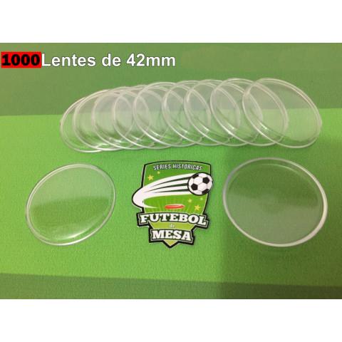 1000 Lentes Transparentes (42 mm de diâmetro)