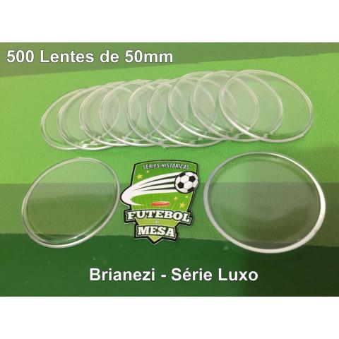 500 Lentes Transparentes (50 mm de diâmetro)