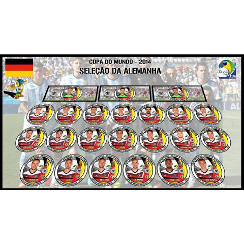 Alemanha 2014 - 23 Jogadores