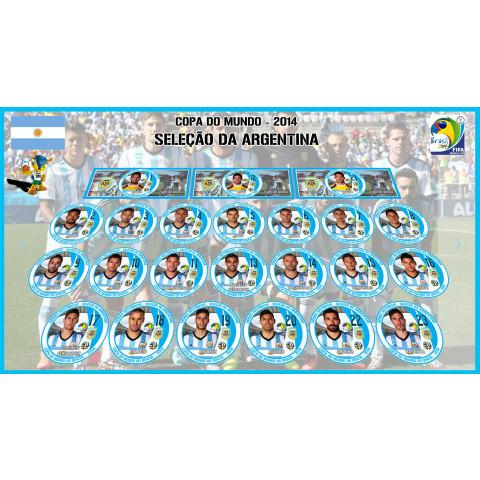 Argentina 2014 - 23 Jogadores