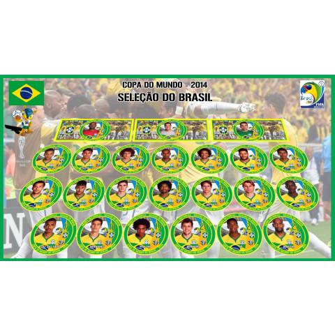 Brasil 2014 - 23 Jogadores