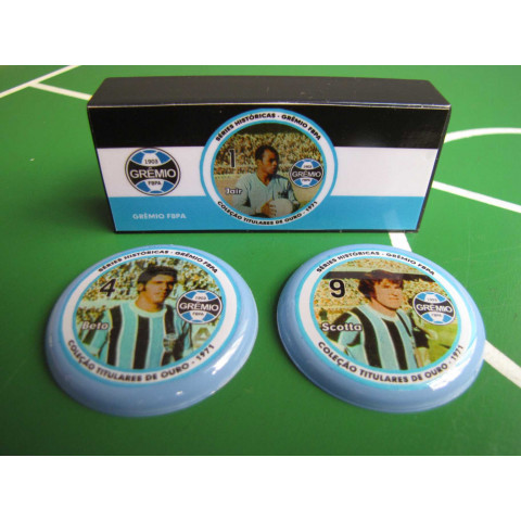 Coleção Titulares de Ouro - 1971 - Grêmio-RS