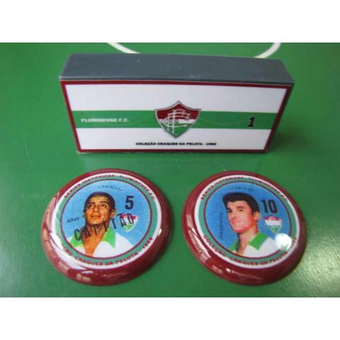 Fluminense-RJ - Coleção Craques da Pelota 1966